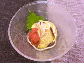賀茂なすとミニトマトの冷やし鉢