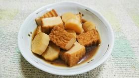 厚揚げと長芋の煮物