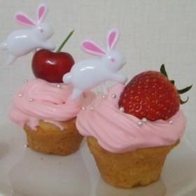 ♪苺×ピンクの乙女マフィン♪