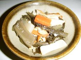 山菜あざみの炒め煮