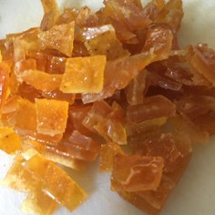 柑橘の皮のピール(基本)