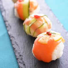 ワインヴィネガーでつくる手毬寿司
