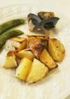 レンジ&魚焼きグリルで時短ベイクドポテト
