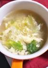超簡単♪レタスと卵のさっぱりスープ