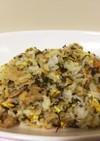 豚バラ肉と高菜の炒飯