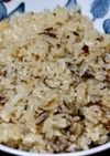 塩昆布ふりかけの炊き込みご飯