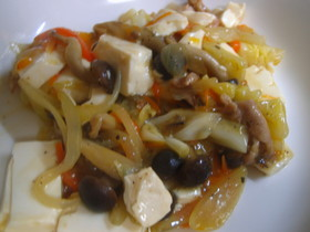 ♪豆腐の中華あんかけ♪