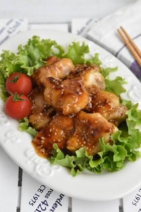 鶏もも肉の甘酢あん【作り置き】