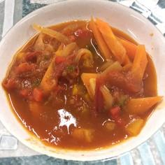 ウガンダレシピ★トマトのスープ