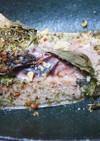マグロのカマ ガーリック&香草焼き