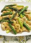 簡単!お弁当おかず。鶏胸肉とアスパラ炒め