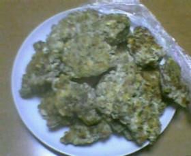 鶏ミンチ&砂肝&豆腐で焼きつくね(^^)