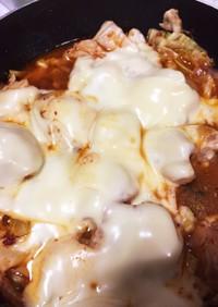 ☆焼肉のたれでチーズダッカルビ☆