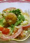 レンジで簡単☆卵と小エビのサラダ♪