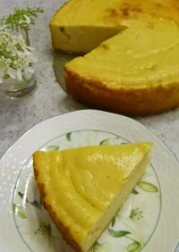 ☆簡単しっとりさつまいもチーズケーキ☆