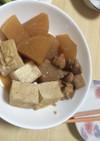 鶏肉と大根の煮物(焼き豆腐あり)