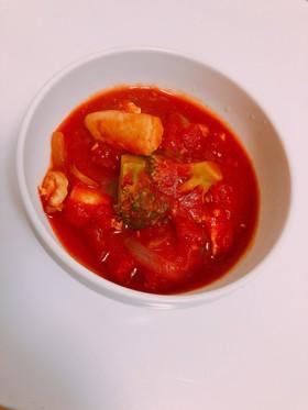 ささみのトマト煮込み
