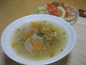 やさしい味♪ホッとする中華スープ