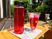 夏バテ防止赤紫蘇ジュースの写真