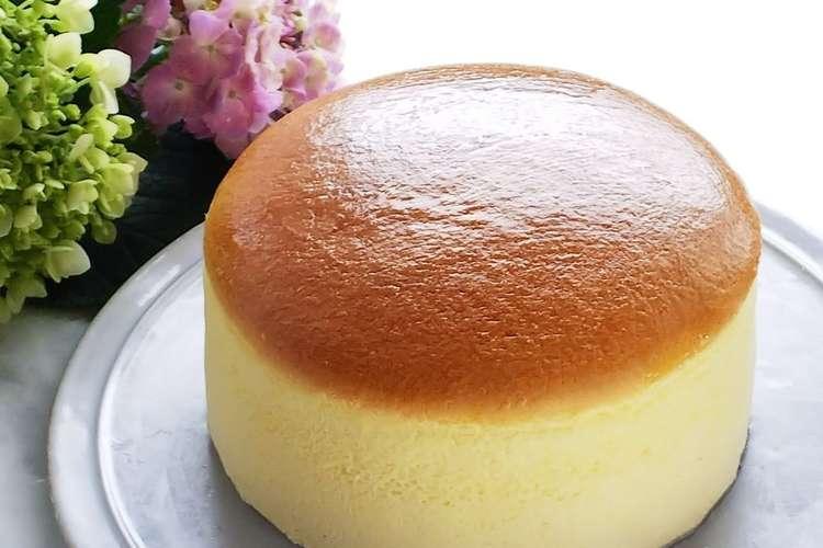 ケーキ スフレ 簡単 チーズ チーズスフレケーキ|Tsuruya ツルヤ