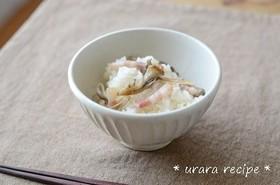 ベーコンと舞茸の炊き込みご飯
