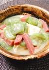 へちまの味噌煮(ナーベーラーンブシー)