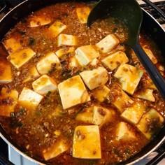 家にあるもので!簡単&本格的♡麻婆豆腐