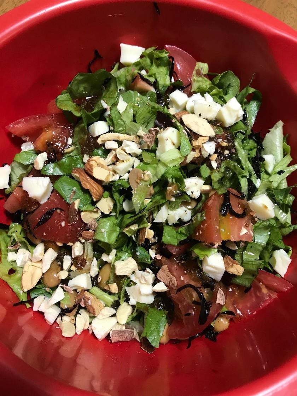 ひじきの煮物リメイク サラダ