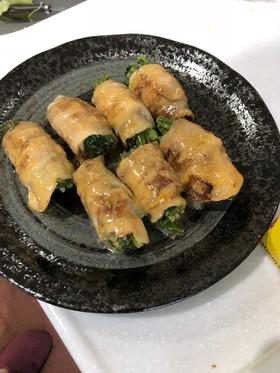 アスパラ菜の豚バラ巻き