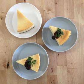 ニューヨーク風ヨーグルトチーズケーキ