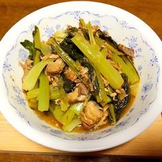 小松菜 鯖缶 簡単* おかず