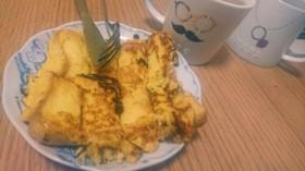 珈琲と紅茶に合いますよ。フレンチトースト