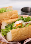 たっぷり野菜♪ベトナム風サンドイッチ