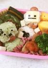 幼稚園 お弁当 ロボット(おにぎり)