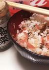 ★紅生姜と高菜ちりめんのご飯★