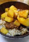 パイナップルでハワイアン豚の生姜焼き丼