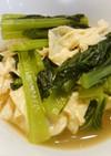 小松菜と生湯葉の煮びたし