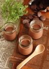 チョコプリン(卵白消費)