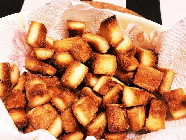パン の 耳 砂糖