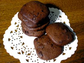 濃厚★Wチョコクッキー