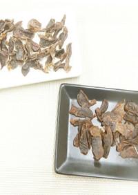 食品乾燥機で砂肝ジャーキーの作り方