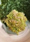 アボカドとマグロのり巻きサラダ