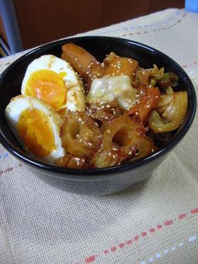 はんぺんの甘辛煮★韓国トッポッキ風煮物