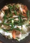 白菜と鶏胸肉の濃厚出汁×豆乳クリーム煮