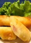 簡単ポテトとウインナーとチーズの春巻き☆