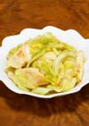 ★鶏むね肉とキャベツの塩ガーリック炒め★