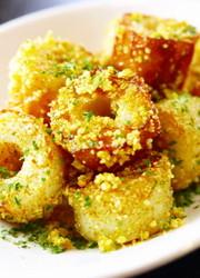 ちくわカレーチーズ焼き。お弁当おつまみにの写真