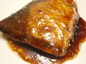 おかんレシピ☆フライパンでブリの鍋照り!