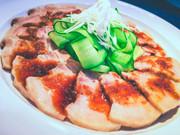 四川料理の定番 雲白肉(ウンパイロウ)の写真
