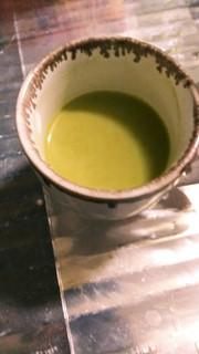 粉末玄米茶のラテ風~パウダークリーム活用の写真
